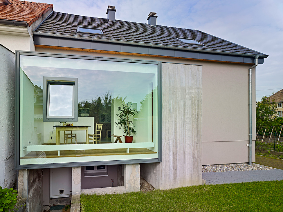Creative Glass Home Exterior Alt