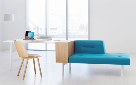 Perfect Multifunctional Office Spaces. Rearrangeable Office Furniture. German  Furniture Company ...