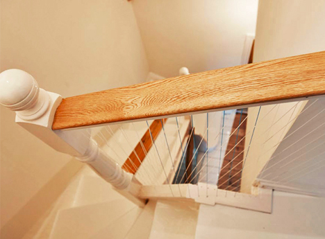 musical harp bannister