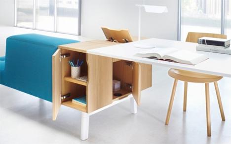 rearrangeable office furniture