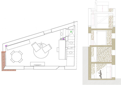 remodel plan section