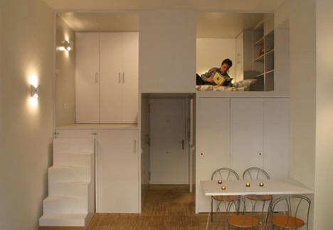 Superieur Full Of Surprises: 300 Square Foot Office Turned Apartment