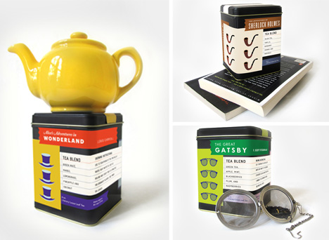 teas with the taste of classic books
