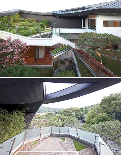Modern Secret Garden House Features Vast Private Courtyard Designs Ideas On Dornob