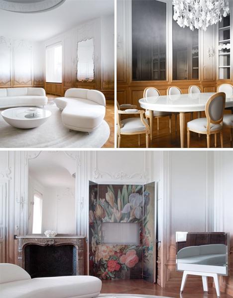 Memories Fade: Historic Paris Apartment Gets Gradient