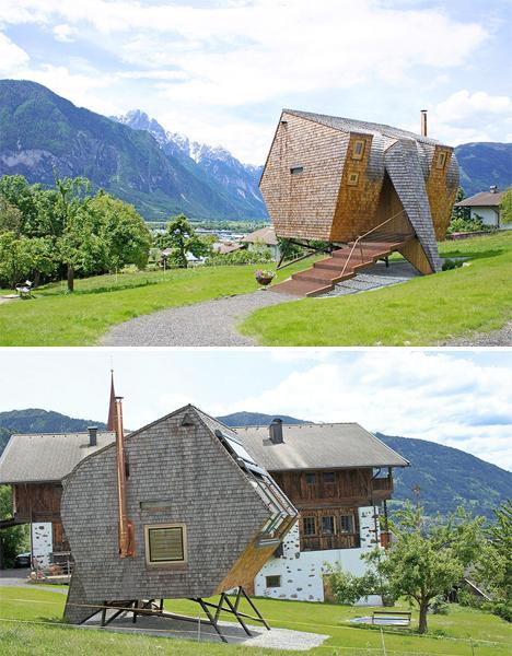 UFOgel tiny modern cabin 2