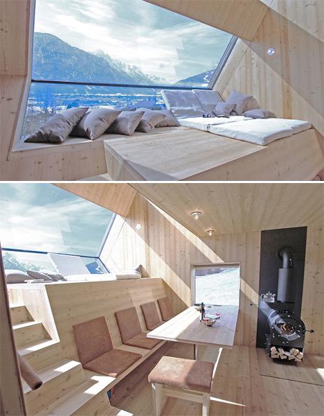 UFOgel tiny modern cabin 3