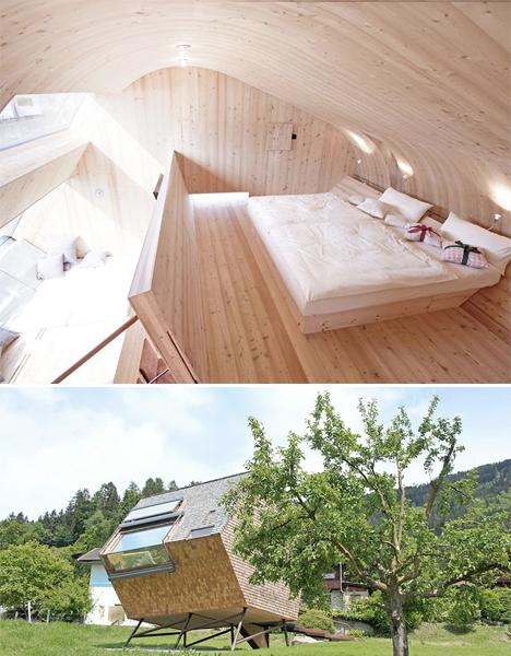 UFOgel tiny modern cabin 4