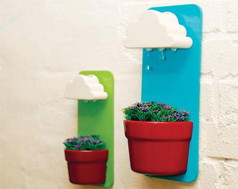 apartment design rainy pots