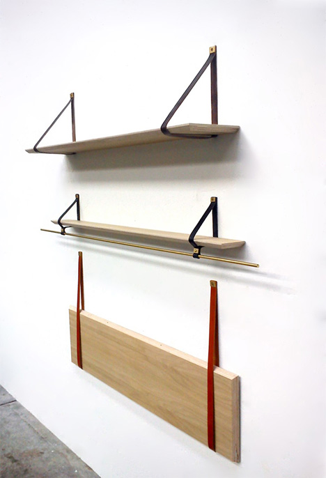 fold flat wall shelves
