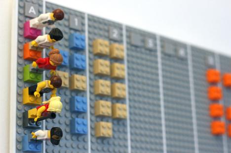 lego wall calendar minifigs