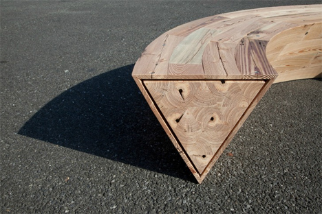 louis lim round and round bench