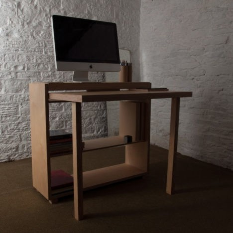 transforming tablet desk