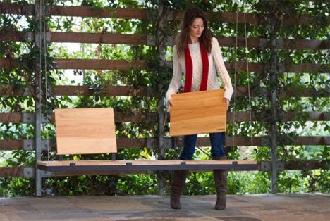 modular customizable porch swing