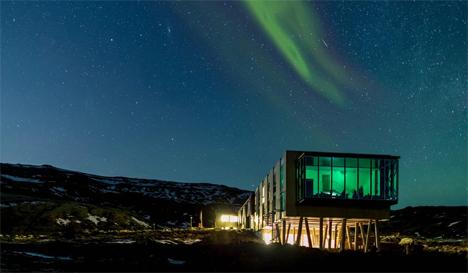 northern lights ion hotel iceland