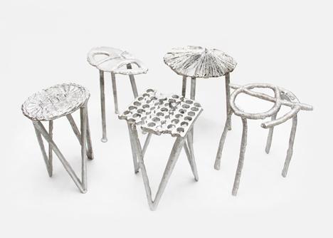 sao paulo can city recycled aluminum stools