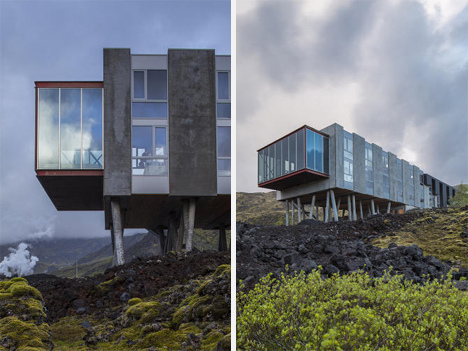 Iceland Hotel Highlights Natural Beauty of Its Surroundings