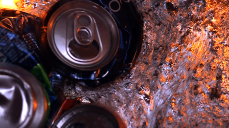smelted cans