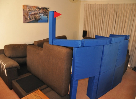 squishy forts castle