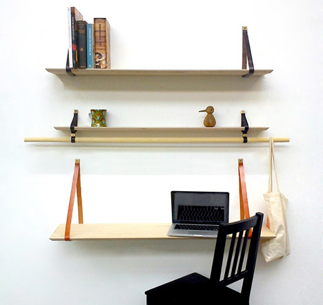triabook wall shelves