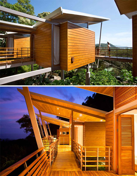 Floating Modern Treehouse 3