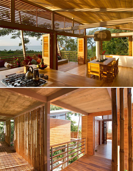 Floating Modern Treehouse 4