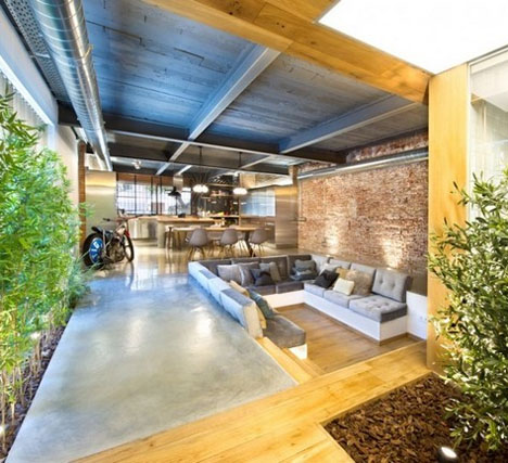 Commercial conversion loft with sunny garden feel solutioingenieria Images