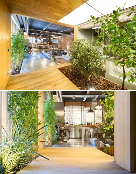 Commercial Conversion: Loft with Sunny Garden Feel