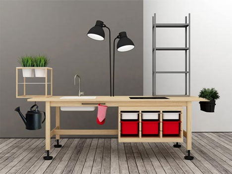 Ikea Reassembled Furniture Series Ignores The Instructions