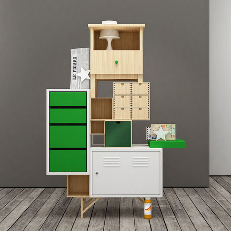 Ikea Reassembled Furniture Series Ignores Instructions