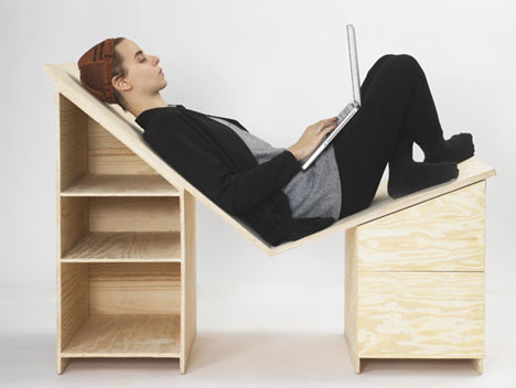 Reclining Laptop Desk 1