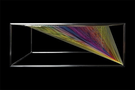 colorful prism table