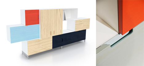customizable modular storage system