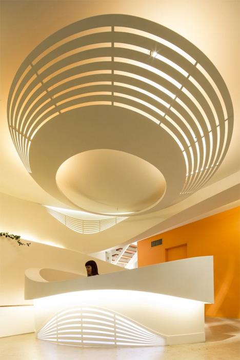digitally fabricated interior