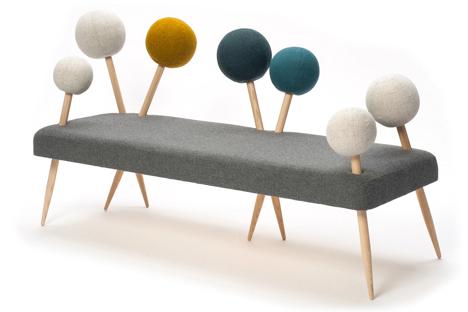 fun pincushion sofa