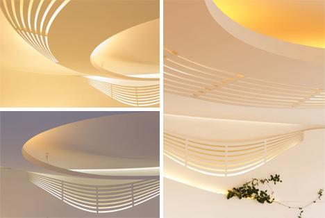geometric shapes and lighting