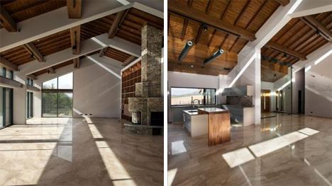 interior passive house apxe studio
