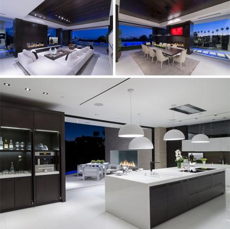 kitchen laurel way residence