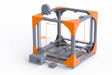 large 3D printer bigrep