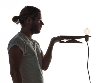 ola giertz clamp lamp
