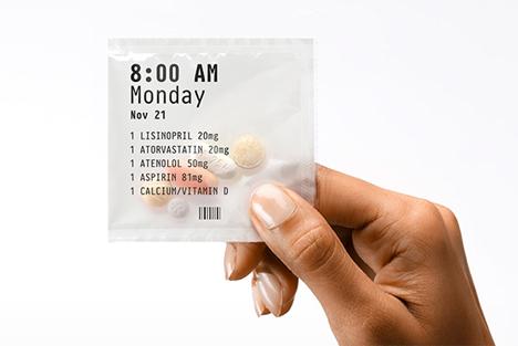 pillpack pouch