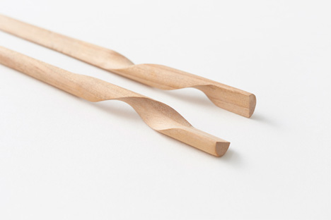 Graceful Chopsticks Are Two Elegant Halves of a Whole