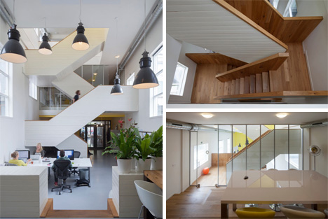 staircase and meeting room