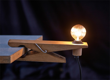 versatile shelf clamp lamp