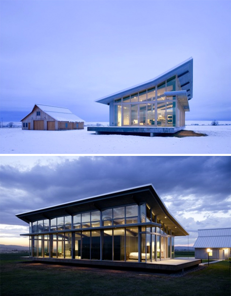 Glass Farmhouse Oregon 2