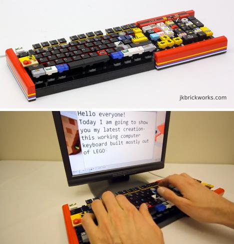 LEGO Keyboard reclaimed 2
