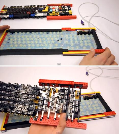 LEGO Keyboard reclaimed 3