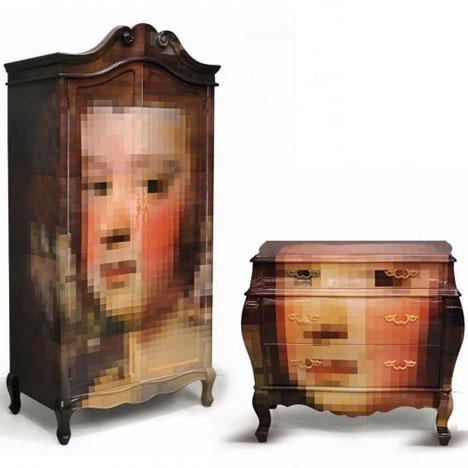 Pixelated Classic Furniture 1