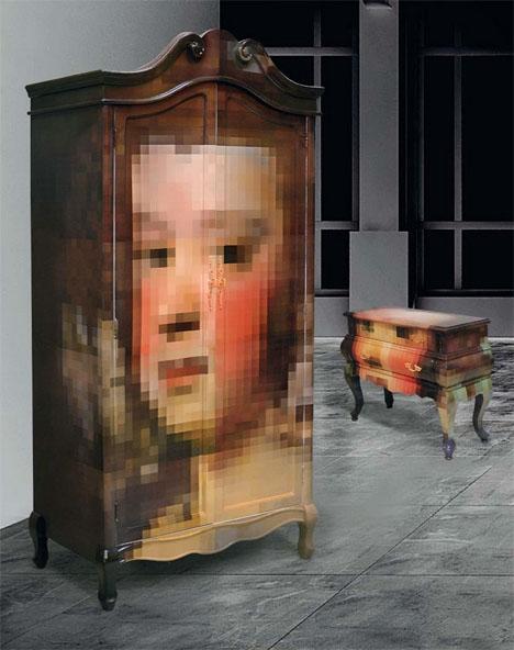 Pixelated Classic Furniture 2