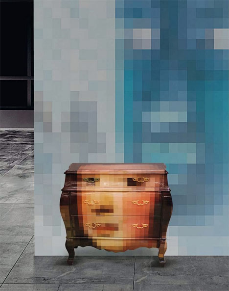 Pixelated Classic Furniture 3